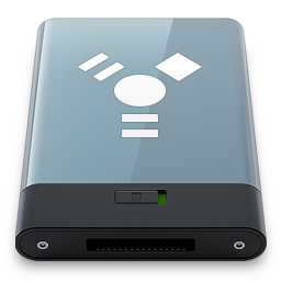 256x256px size png icon of Graphite Firewire W