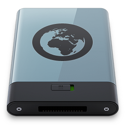256x256px size png icon of Graphite Server B