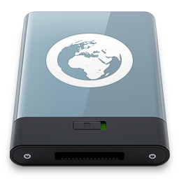256x256px size png icon of Graphite Server W