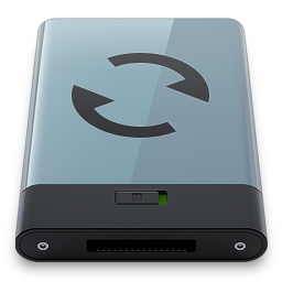 256x256px size png icon of Graphite Sync B