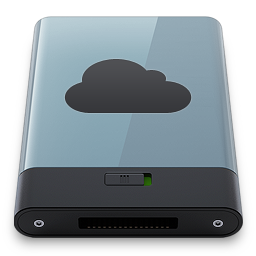 256x256px size png icon of Graphite iDisk B