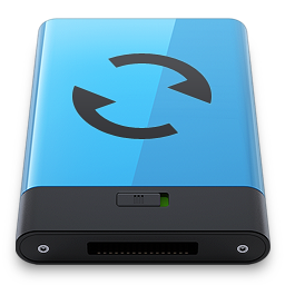 256x256px size png icon of sync