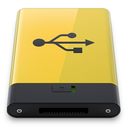 Yellow Usb Vector Icons Free Download In Svg Png Format