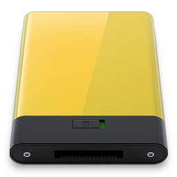 256x256px size png icon of yellow
