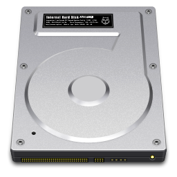 256x256px size png icon of Internal Drive 160GB