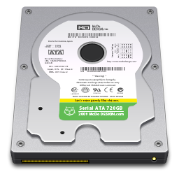 256x256px size png icon of Internal Drive 720GB