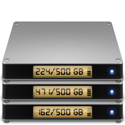 256x256px size png icon of Folder fileserver
