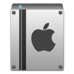 256x256px size png icon of apple drive