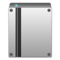 256x256px size png icon of internal drive