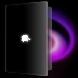 256x256px size png icon of MacbookBlack Magic