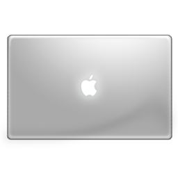 256x256px size png icon of MacbookPro Flatn