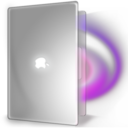 256x256px size png icon of MacbookPro Magic