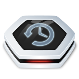 256x256px size png icon of Drive TimeMachine