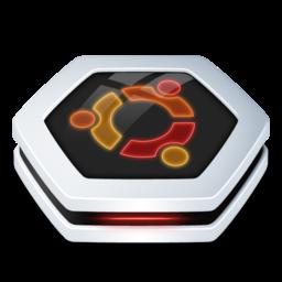 256x256px size png icon of Drive Ubuntu