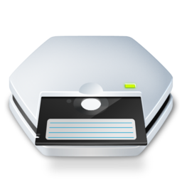 256x256px size png icon of Floppy 5 25 inch