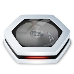 256x256px size png icon of HardDrive v2