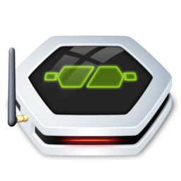 256x256px size png icon of NetworkDrive Online