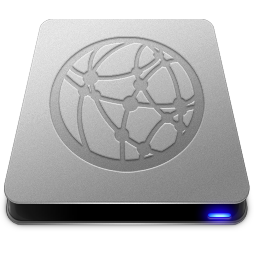 256x256px size png icon of Server Drive
