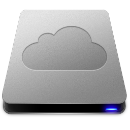 256x256px size png icon of iDisk Drive