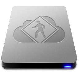 256x256px size png icon of iDisk User Drive