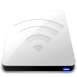 256x256px size png icon of AirPort White
