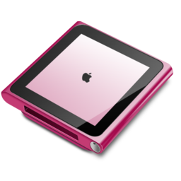 256x256px size png icon of iPod nano pink