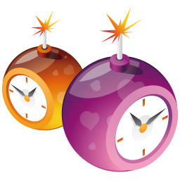 256x256px size png icon of clocks