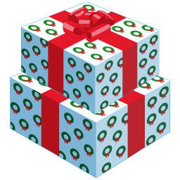 256x256px size png icon of gifts 2