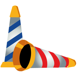 256x256px size png icon of party hat