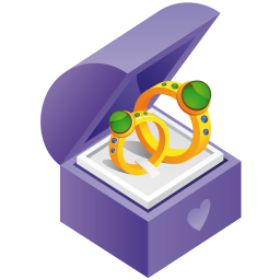 256x256px size png icon of ring