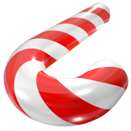 256x256px size png icon of Cane 02
