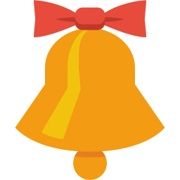 256x256px size png icon of jingle bell