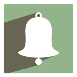 256x256px size png icon of Bell