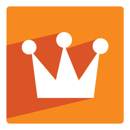 256x256px size png icon of Crown