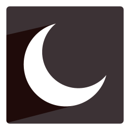 256x256px size png icon of Moon