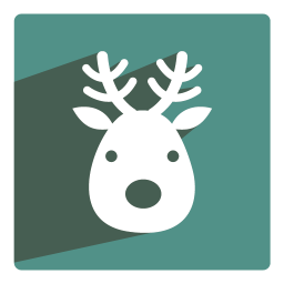 256x256px size png icon of Reindeer