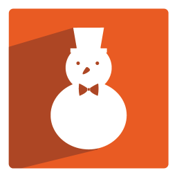 256x256px size png icon of Snowman