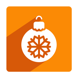 256x256px size png icon of Christmas Bauble