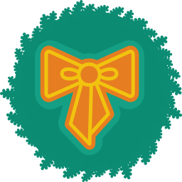 256x256px size png icon of bow