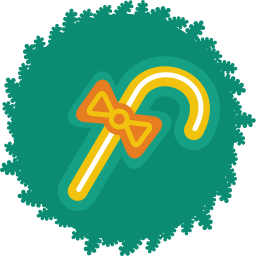 256x256px size png icon of cane