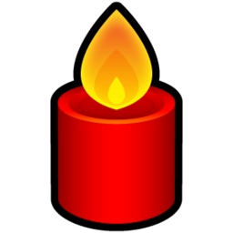 256x256px size png icon of Candle