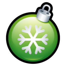 256x256px size png icon of Christmas Ball 1