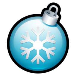 256x256px size png icon of Christmas Ball 2