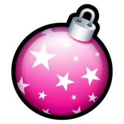 256x256px size png icon of Christmas Ball 5