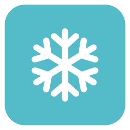256x256px size png icon of snow flake