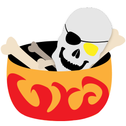 256x256px size png icon of bones