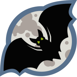 256x256px size png icon of Bat