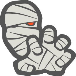 256x256px size png icon of Mummy
