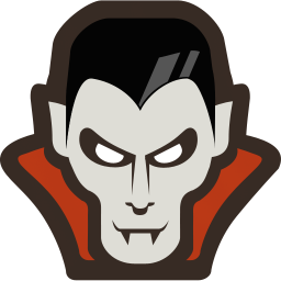 256x256px size png icon of Vampire