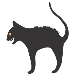 256x256px size png icon of cat